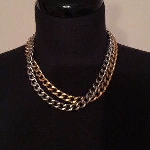 Bundle of two costume necklaces NWT